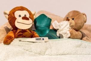blog sick teddy bear